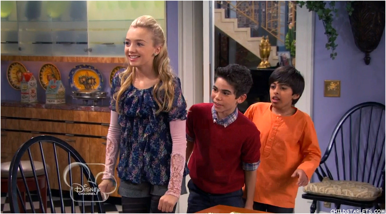 ... Of Peyton List Skai Jackson Disney S Quot Jessie Romancing The Crone