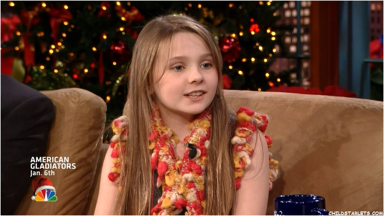 Abigail Breslin On Jay Leno