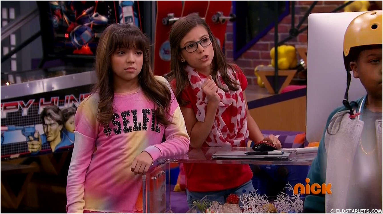 Cree Cicchino and Madisyn Shipman - Game Shakers Nasty Goats