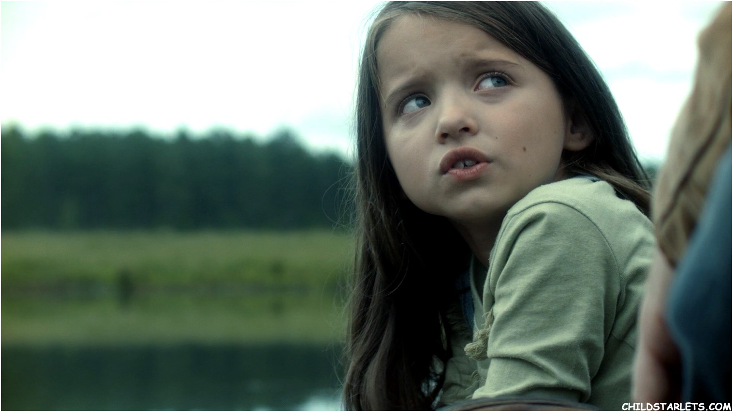 "Madeleine McGraw in ""Outcast"""