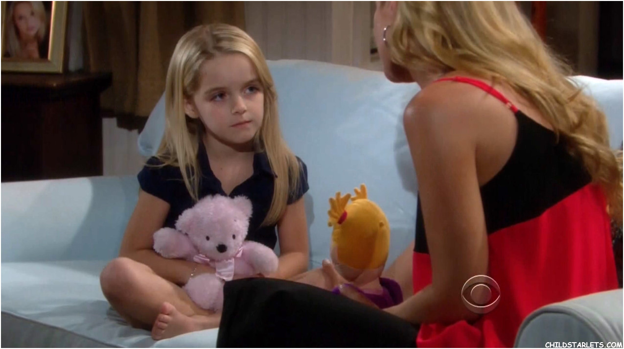 Mckenna Grace Child Actress - The Young and the Restless