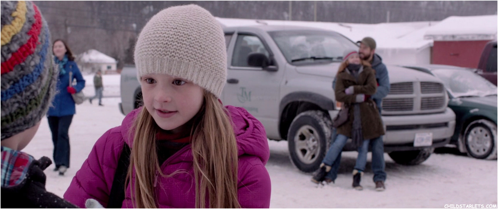 Peyton Kennedy Child Actress in The Captive