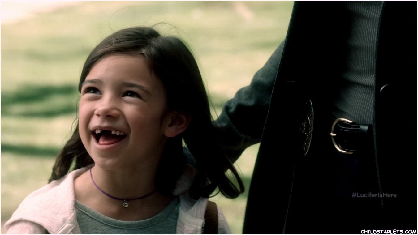 Scarlett Estevez Child Actress - Lucifer Pilot