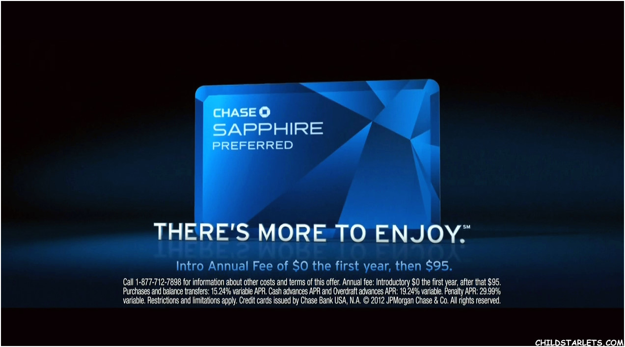 """Chase Sapphire Preferred"""" Images/Pictures -- CHILDSTARLETS.COM"""