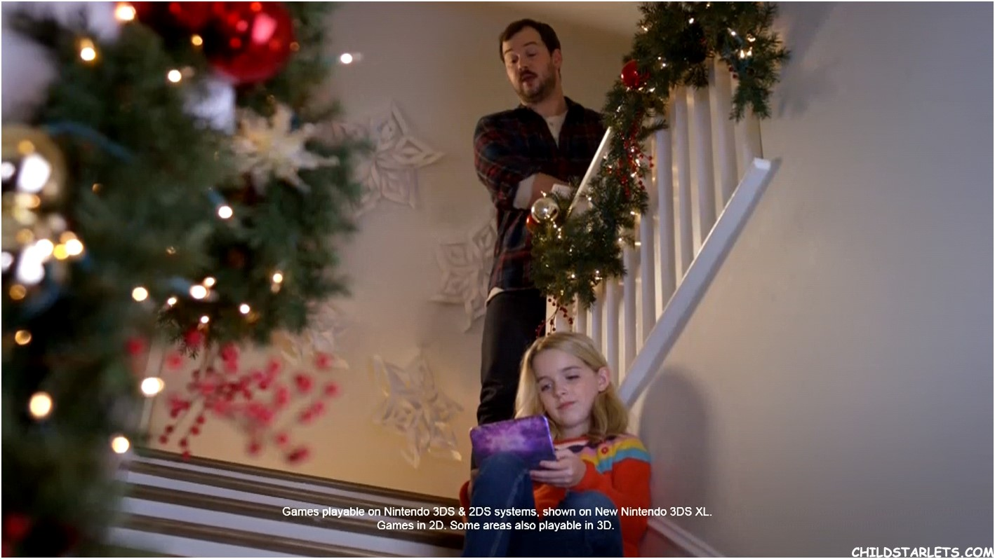 Mckenna Grace - Nintendo Christmas 2016 2016/HD Images/Pictures ...