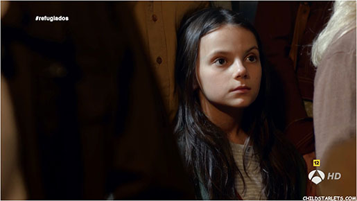 Dafne Keen in The Refugees