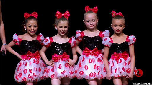 Areana Lopez and Elliana Walmsley - Dance Moms Mini