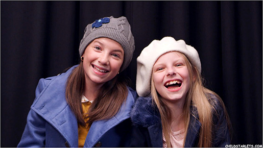 "Hattie Kragten and Molly Lewis appear next week in the new holiday movie, ""The Santa Squad"""