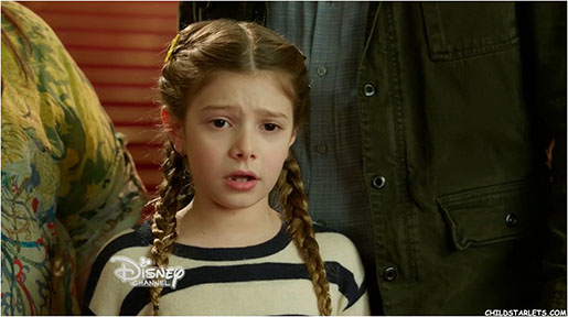 Makenzie Moss Young Child Actress in Disney's Pup Star