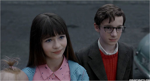 "Malina Weissman co-stars in the new Netflix Streaming Series ""Lemony Snicket's A Series of Unfortunate Events""."