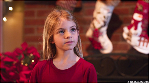 "Rhys Olivia Cote in ""My Adventures With Santa"""