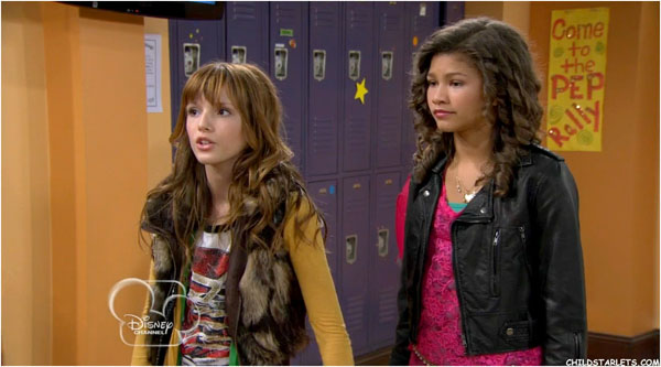 Bella Thorne and Zendaya in Shake It Up