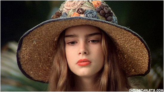 Brooke Shields Childhood Picture