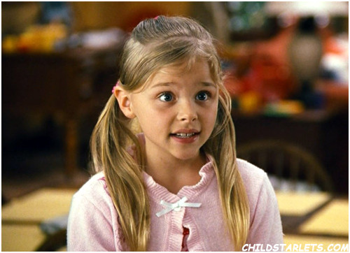 Chloe Grace Moretz Child