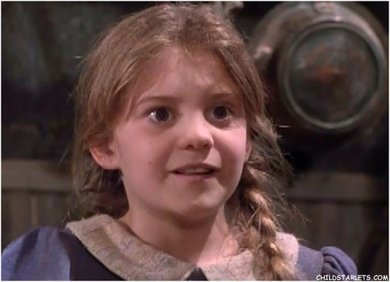 Sally in a scene from Simon and the Witch
