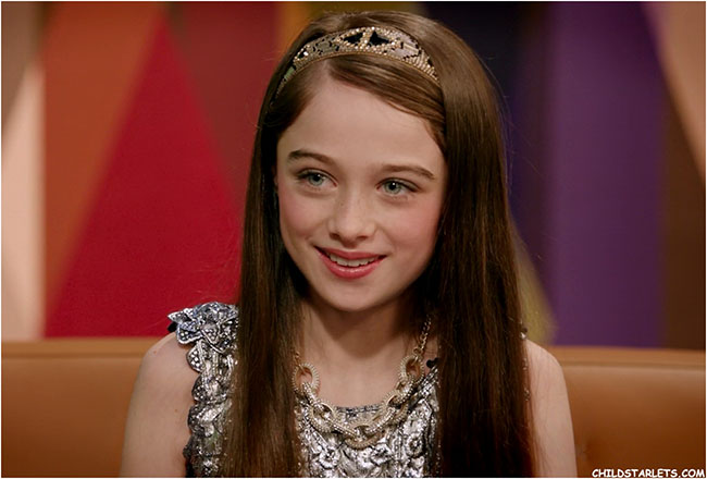 Raffey Cassidy Young Child Actress